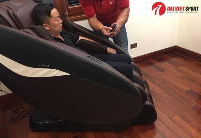 Các phương pháp mát xa trên ghế massage hiện đại