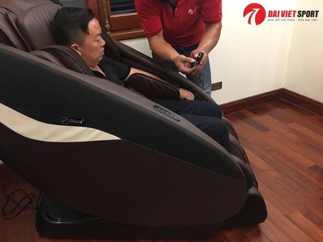 Ghế massage bao nhiêu tiền phù hợp mát xa tại nhà?
