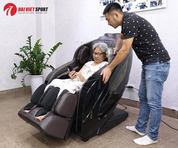 Ghế massage cho người cao tuổi: Nên chọn loại nào ?