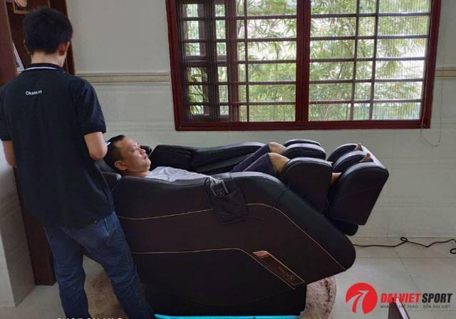 Ghế massage Nhật Bản ở đâu vừa tốt lại rẻ ?
