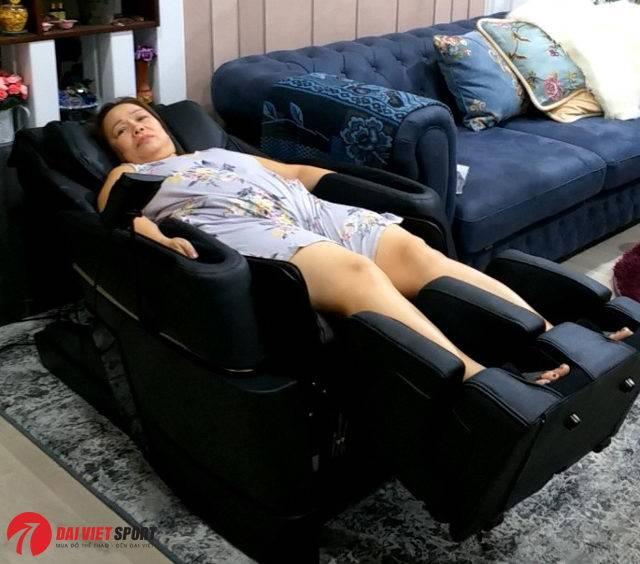 Ghế mát xa toàn thân giúp giảm cân?