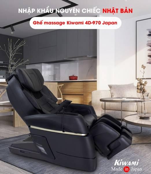 Hình ảnh Ghế massage toàn thân Kiwami 4D-970 Japan