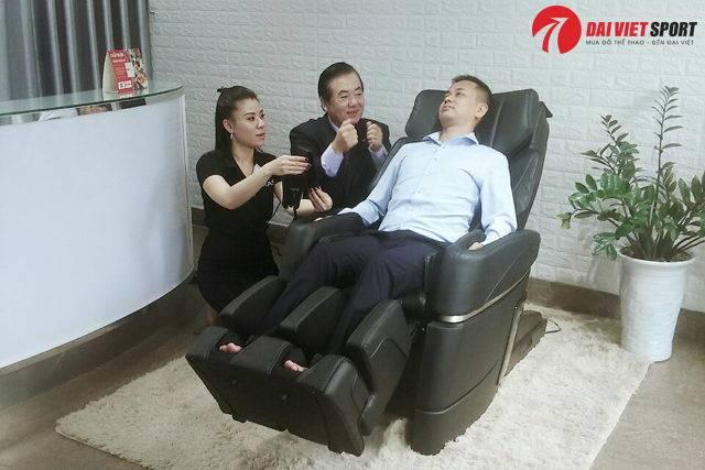 Hướng dẫn sử dụng ghế massage toàn thân hiệu quả