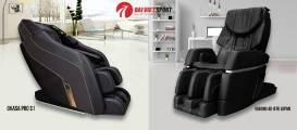 So sánh Ghế massage Okasa Pro S1 và Kiwami 4D-970 Japan